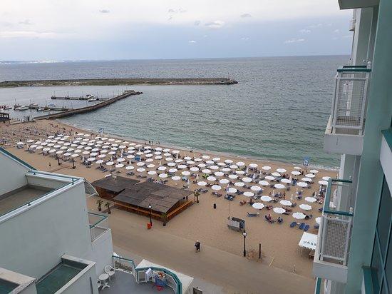 lti Berlin Golden Beach Hotel: Widok z pokoju