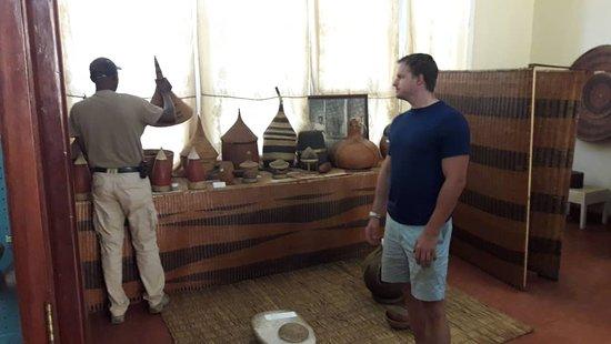 Gitega, Burundi: Some handicrafts