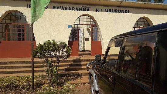 Gitega, Burundi: Entrance building