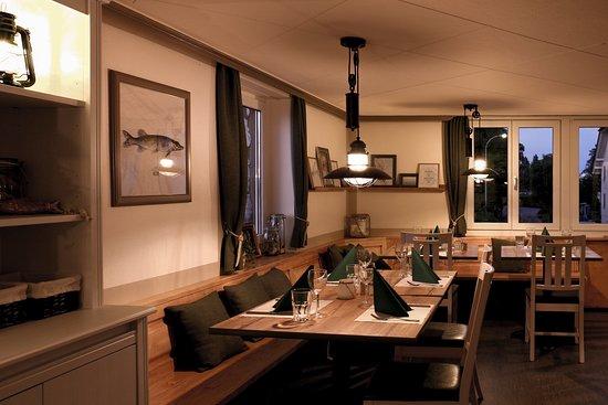 Steinach, Szwajcaria: Im Restaurant finden bis zu 40 Gäste Platz.