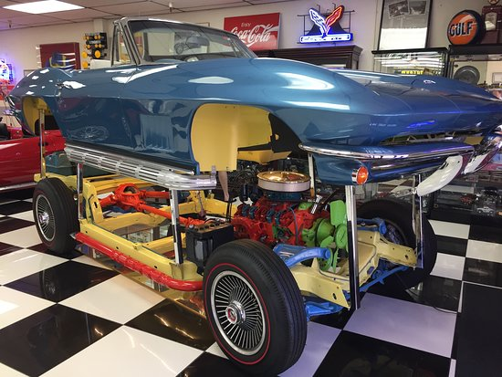 Exploded View Of Corvette Picture Of Martin Auto Museum Phoenix