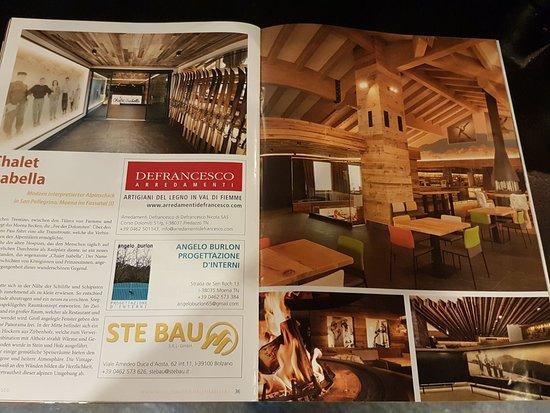 Nelle riviste di arredamento anche foto di ristorante bar