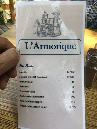 Creperie l'Armorique: Drinks Menu