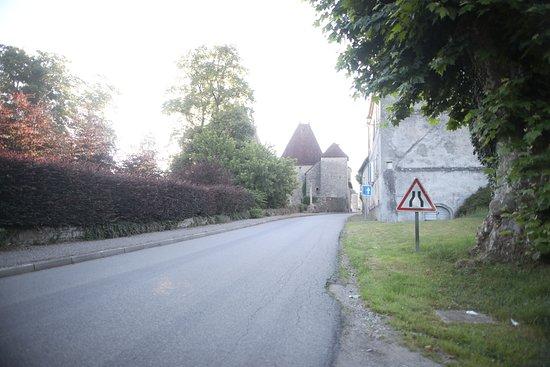Vue du village d'Arlay