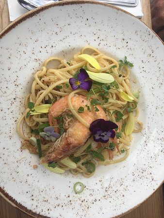 Wadhurst, UK: Sea food linguine