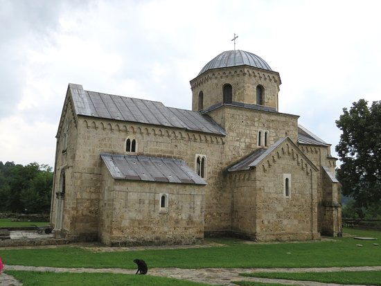 Raska, Serbia: The church