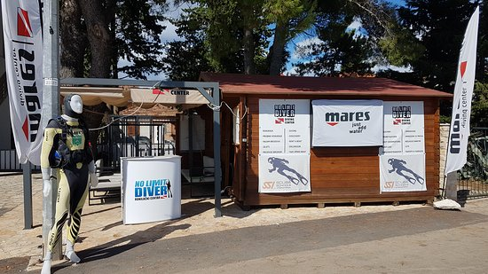 Sveti Filip i Jakov, Kroasia: No Limit Diver Diving Center