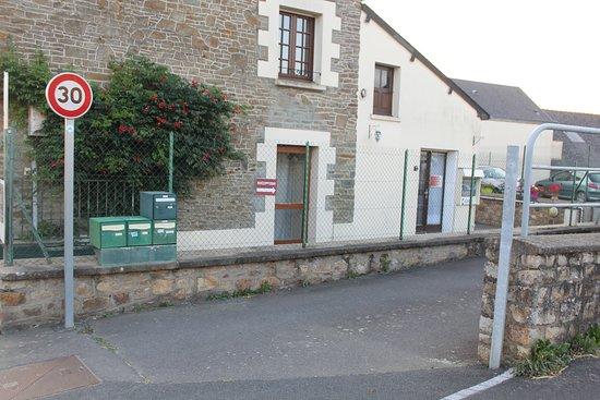 Huisnes sur Mer, France: Aussenbereich