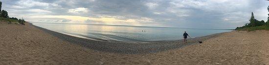 Grand Bend Beach: Panoramic beach phot0