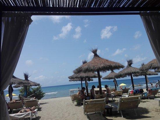 Spiaggia di Casetta Civinini: vista dal gazebo!!!