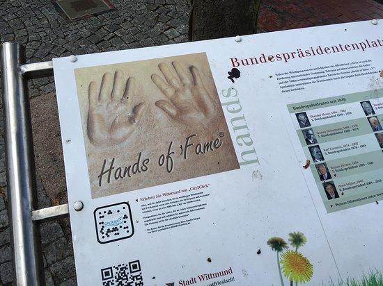 Wittmund, Jerman: Bundespräsidentenplatz