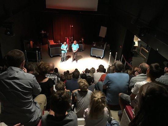 Swiss Science Center Technorama: Spettacolo sui gas