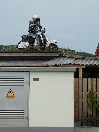 Kallmuenz, Jerman: ein Dachmotiv in der Nachbarschaft