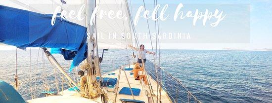 Teulada, Italie : Una giornata in barca a vela