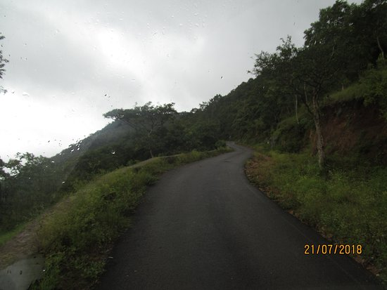 Bandipur National Park, Hindistan: Route to hills