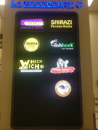 Food Court Options - Picture of OASIS Mall, Muscat - TripAdvisor