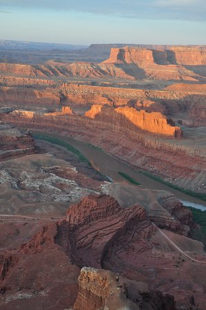 Dead Horse Point State Park: About 30 minutes after the sun rose