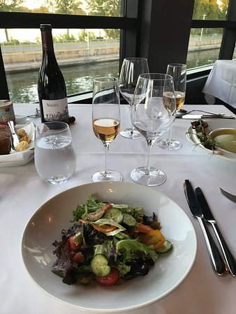 Restaurant Le Samuel: La salade de mesclun délicieuse