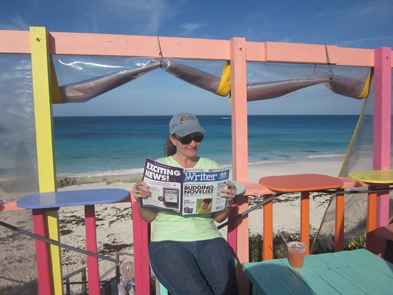 Great Guana Cay: relaxing by the sea
