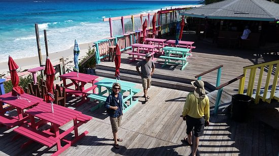 Great Guana Cay: Balcony view of Nippers