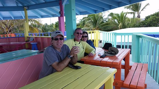Great Guana Cay: In Balcony seating