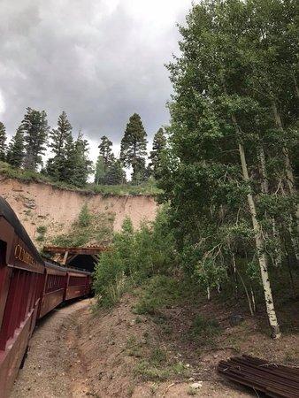 Cumbres & Toltec Scenic Railroad: Mud tunnel