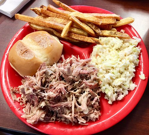 Bar-B-Q By Jim: The Pulled Pork Plate