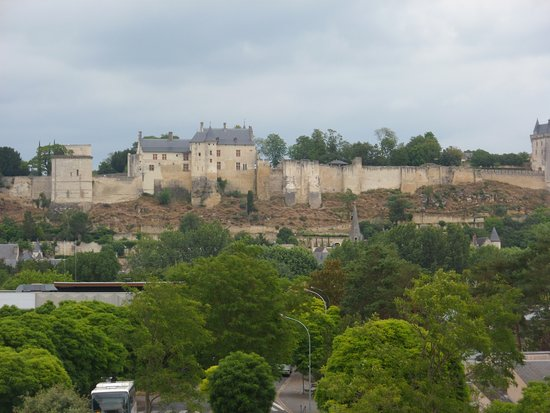 Ibis Styles Chinon: View of chateau