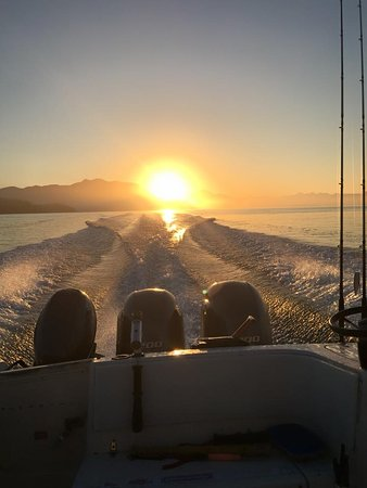 Barkley Sound, Canada: heading out to fish