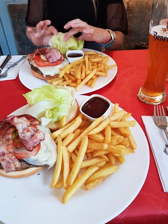 Nieblum, Germany: Bacon Cheeseburger