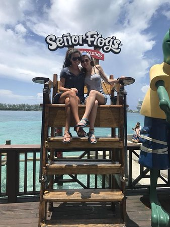 Senor Frog's: They're legal in Nassau!