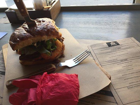 Decabrist Burger Bar: очень вкусно
