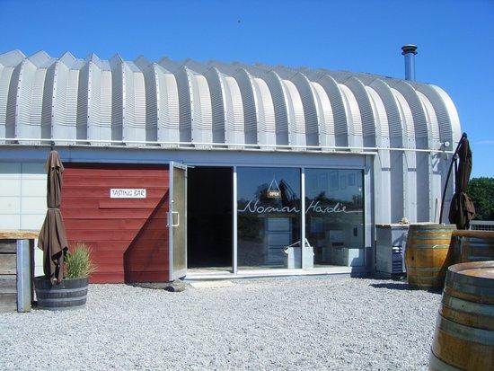 Norman Hardie Winery and Vineyard : Norman Hardie Tasting Room Entrance