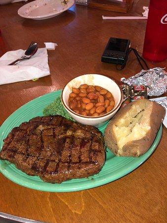 K-Bob's Steakhouse: My 16 oz ribeye