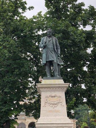 Statue of Miklos Ybl