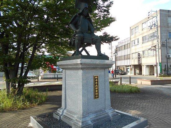 Takenaka Hanbei Statue