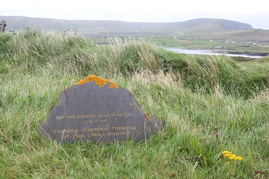 Valentia Island, Irlandia: telegraph field