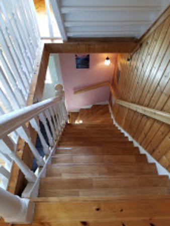 Guesthouse Det gamle Hotellet: Stairs