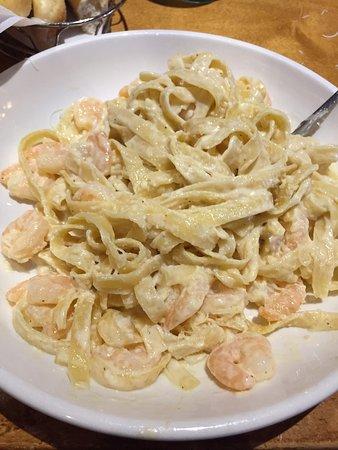 Shrimp Alfredo Picture Of Olive Garden Wausau Tripadvisor