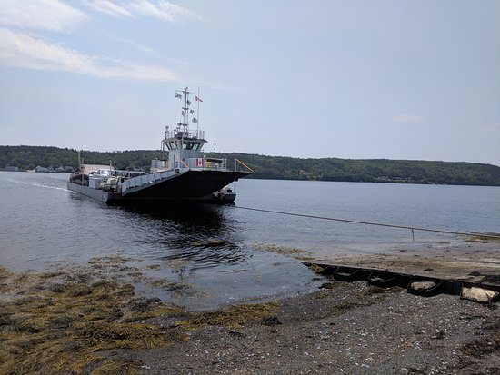 Lahave Ferry: ferry approaching