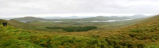 Portmagee, Ireland: Cliff View verso Valentia Island