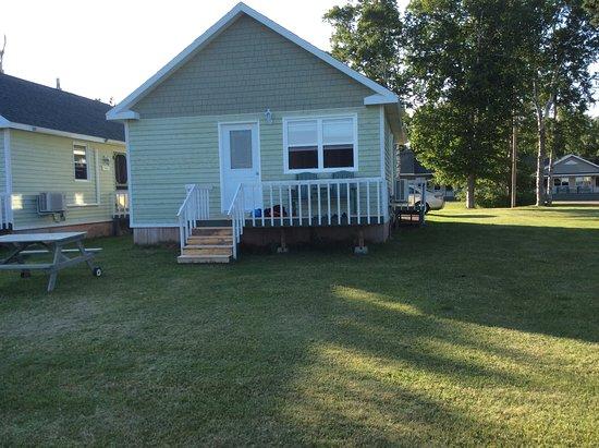 Alberton, كندا: The back door view of the Elm cottage.