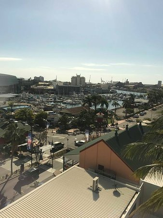 Rydges Southbank Townsville: View from 6th floor, corner executive suite. Overlooking Palmer St