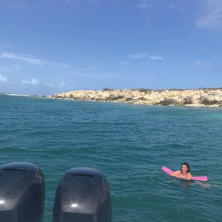 Oyster Pond, St Martin / St Maarten: Snorkeling and swimming