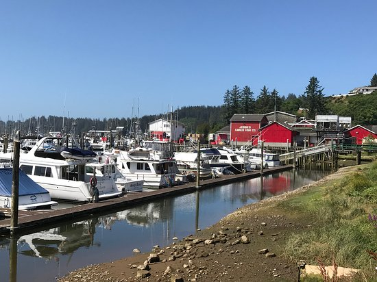 Port of Ilwaco Boardwalk