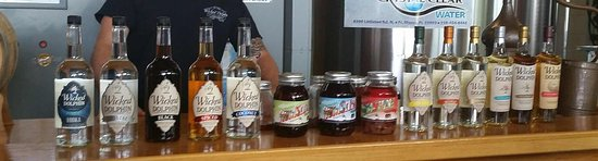 Wicked Dolphin Rum Distillery: The many flavors of Wicked Dolphin
