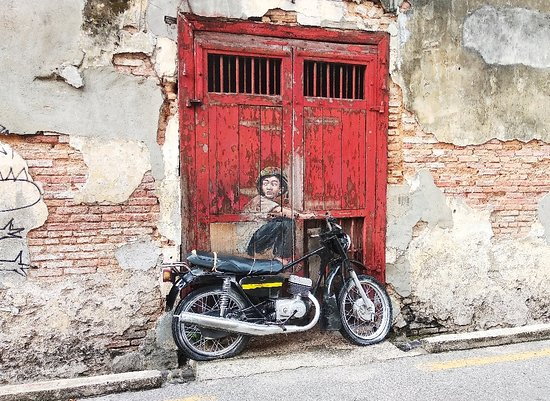 Street Art in George Town 사진