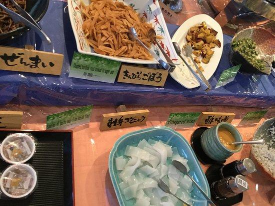 Kirishima Kokusai Hotel: 種類が多い