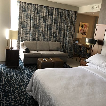 Fantastic large suite and clean