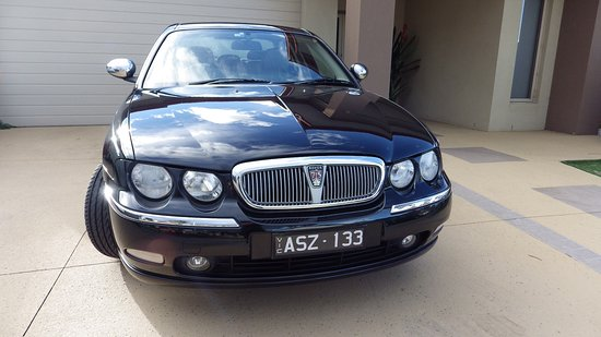 Point Cook, Australia: Our chauffeur car ... Rover 75 Connoisseur SE
